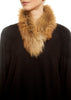 Red Genuine Fox Fur Collar | Jessimara London