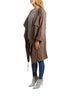Taupe Suede Relaxed Coat | Jessimara London