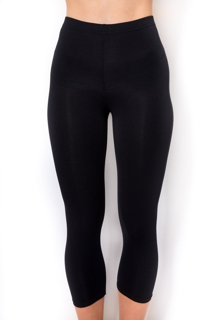 RENDEZVOUS BLACK JENNY CROPPED LEGGINGS Rendezvous - Jessimara