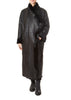 Black Long Sheepskin Coat | Jessimara London