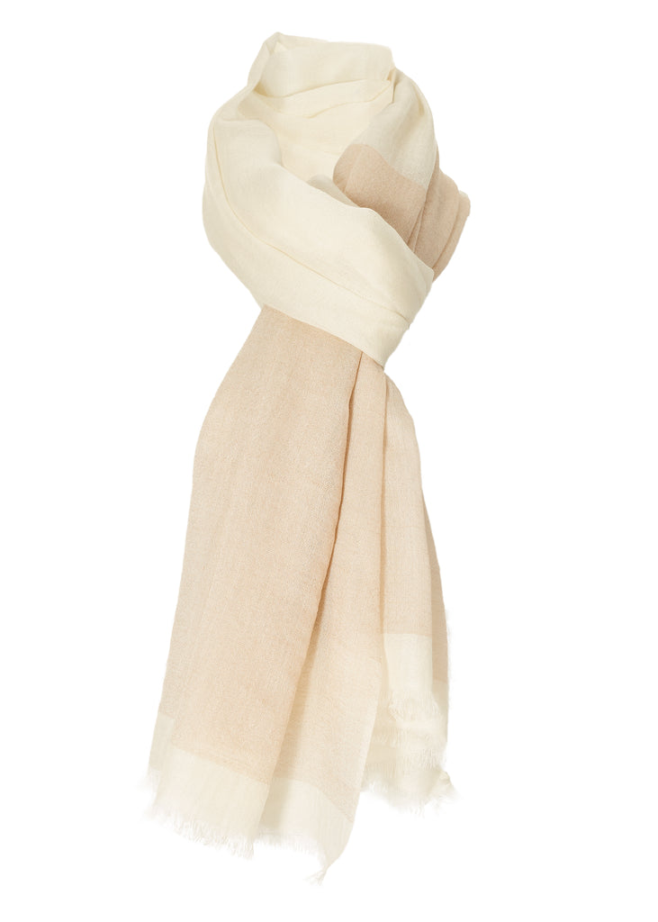 Milk - Camel Open Scarf