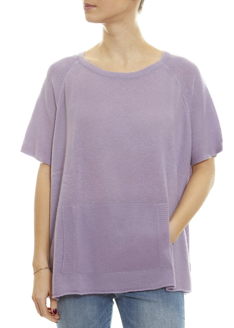 Lavender Ice 'Alyn' Short Sleeve Jumper | Jessimara London