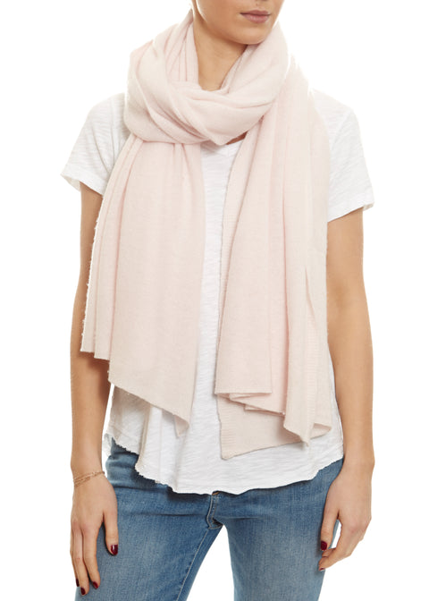 Summer Pink Cashmere Scarf Wrap | Jessimara London