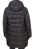 Black Puffer Coat - Jessimara