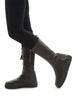 'Very Handsome' Calf Length Flat Boot