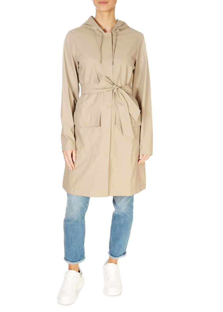 Beige Belted Coat | Jessimara London
