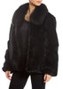 Real Rex Rabbit Fur Bomber Jacket Jessimara Fur - Jessimara