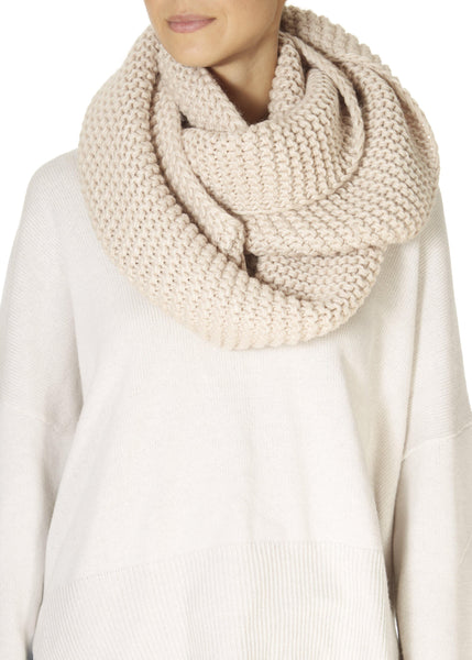 Cream Knitted Collar