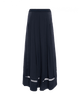 'Assure' Navy Wide Leg Trousers