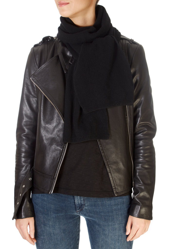 Black Open Scarf | Jessimara London
