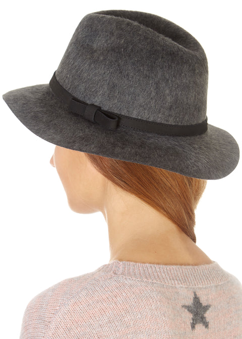 Grey Trilby Hat | Jessimara London