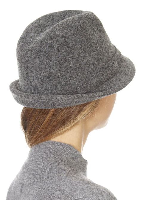 Mini Grey Trilby Hat | Jessimara London