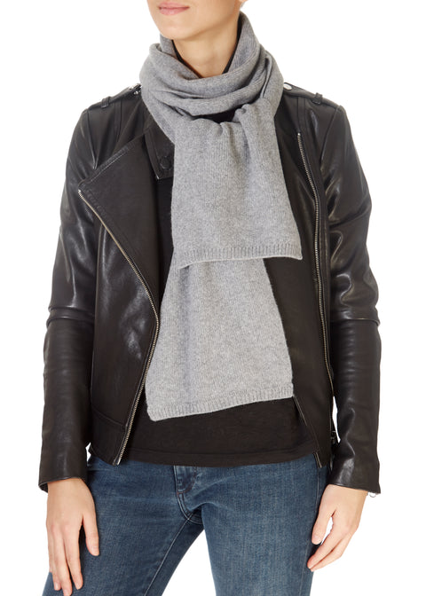 Light Grey Open Scarf | Jessimara London