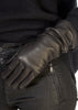 Black Leather Gloves | Jessimara London