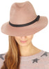 Rose Pink Trilby Hat | Jessimara London