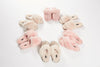 Cream Criss Cross Luxury Sheepskin Slippers