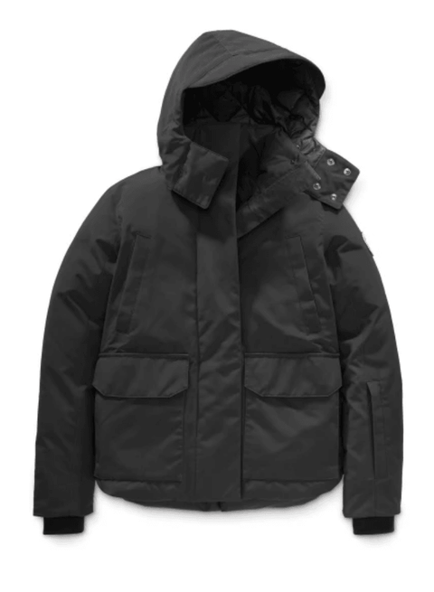 'Blakely' Black Parka