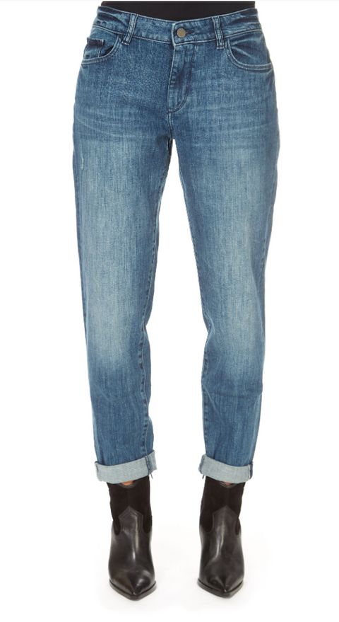 'Riley' Nassau Blue Boyfriend Jeans
