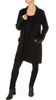 'Hank' Black Merino Wool Jacket