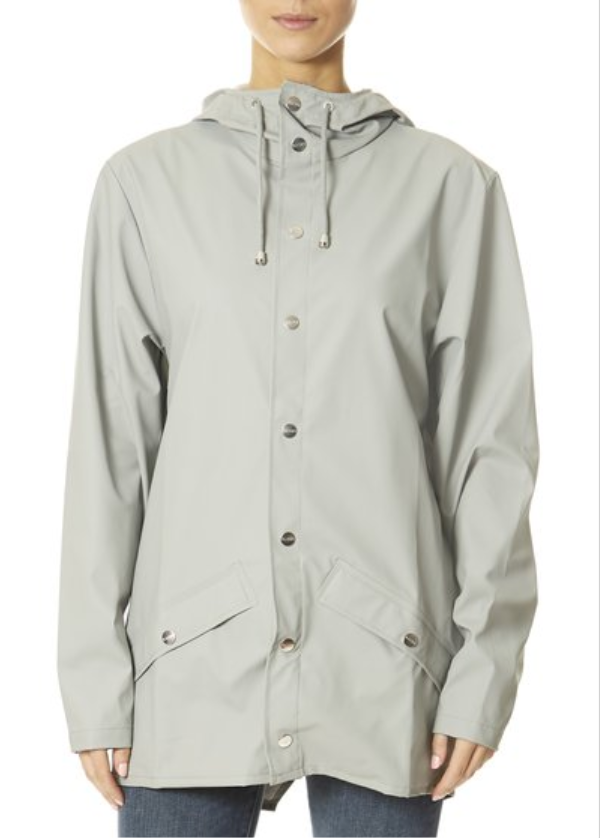Stone Grey Rain Jacket | Jessimara London