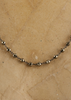 Pyrite Rosario Stone Necklace | Jessimara London