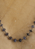Grey/Blue Labradorite Beaded Necklace