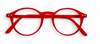 D Red Crystal Reading Glasses | Jessimara London