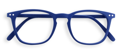 #E Navy Blue Reading Glasses | Jessimara London