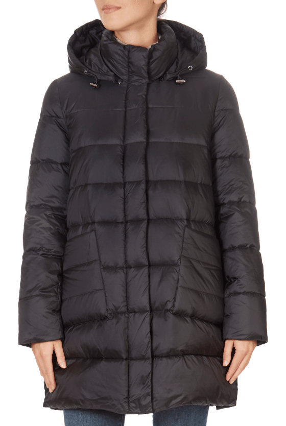 Black Puffer Coat | Jessimara London