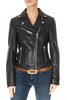'Ghost' Classic Leather Motorcycle Jacket | Jessimara London