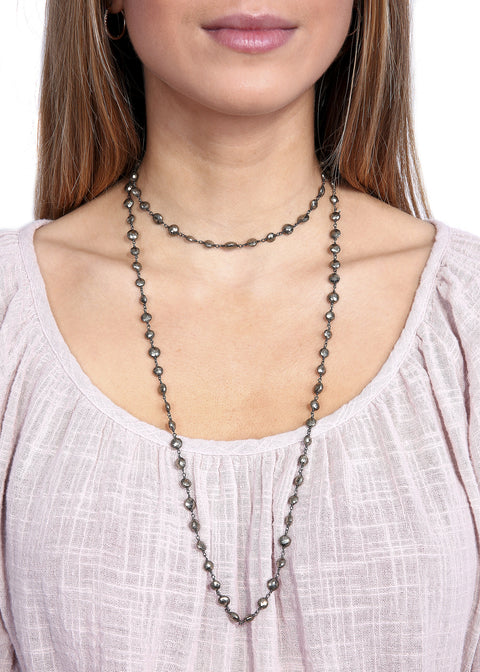 Ela Rae 'Diana' Pynte Coin Thick Chain Necklace - Jessimara
