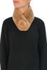 Camel Magnetic Real Rex Rabbit Bobble Scarf