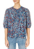 'Jude' Blue Floral Top | Jessimara London