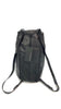 'Zirco' Black Leather Backpack