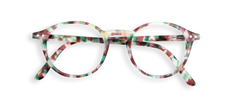 Stylish Reading Glasses Green Tortoise #D Shape Izipizi - Jessimara