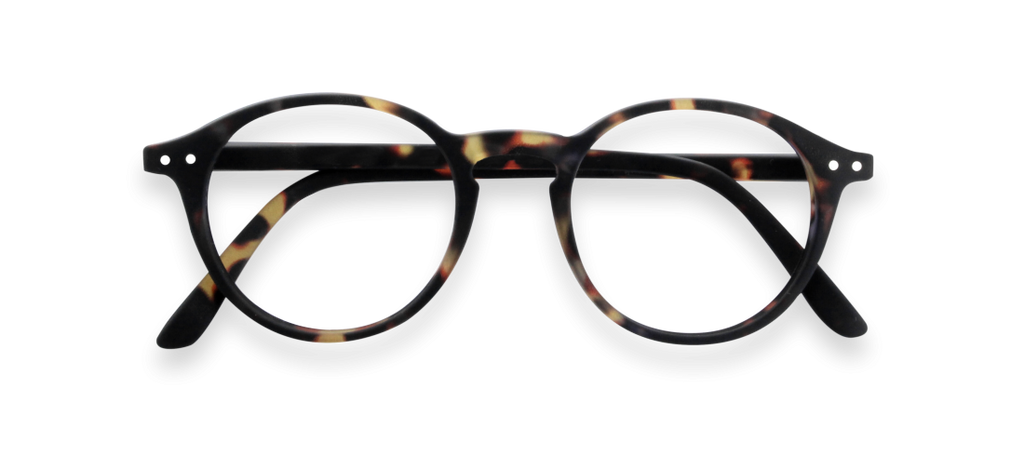 Tortoise Soft D Shape Reading Glasses | Jessimara London