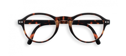 Stylish Foldable Reading Glasses Tortoise F Shape | Jessimara London