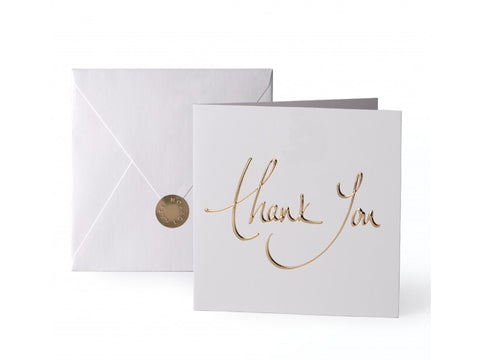 'Thank You' Gold Card | Jessimara London