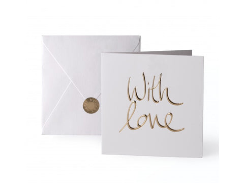 'With Love' Gold Card | Jessimara London
