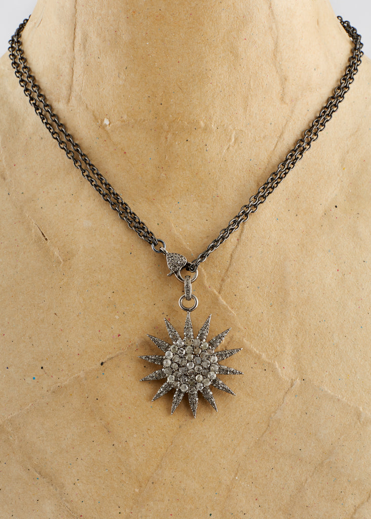 Starburst Diamond Pendant | Jessimara London