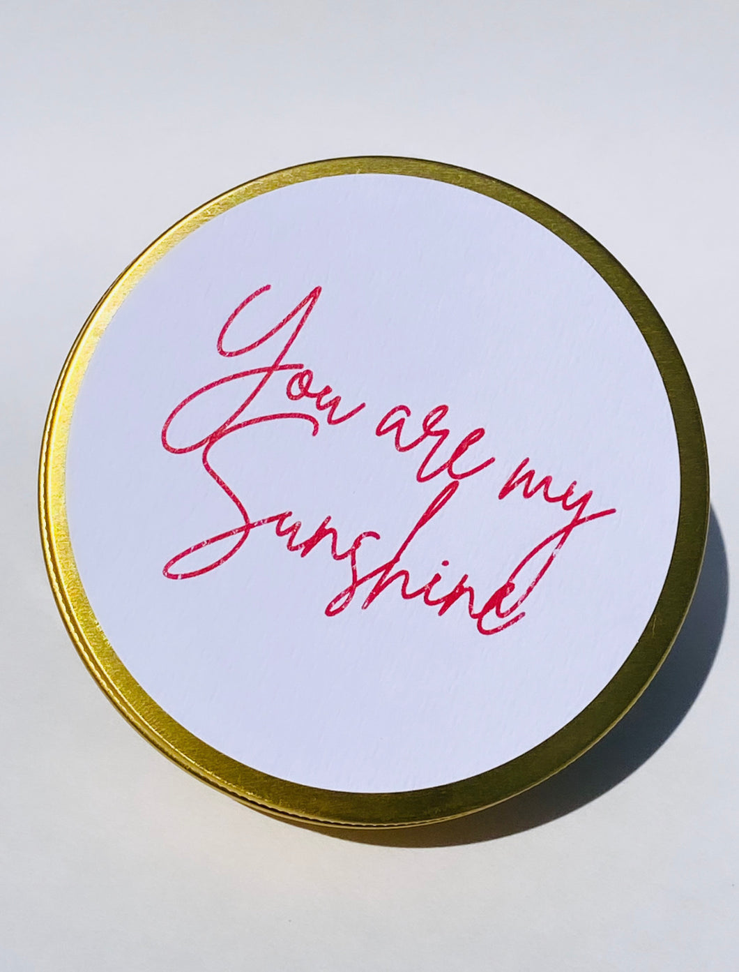 You are my Sunshine Limited Edition Travel Tin