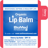 Organic Lip Balm 6pk (Assorted)
