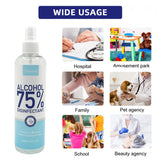 75% Alcohol Hand Sanitizer Disinfectant Spray – 10.2oz Spray Bottle