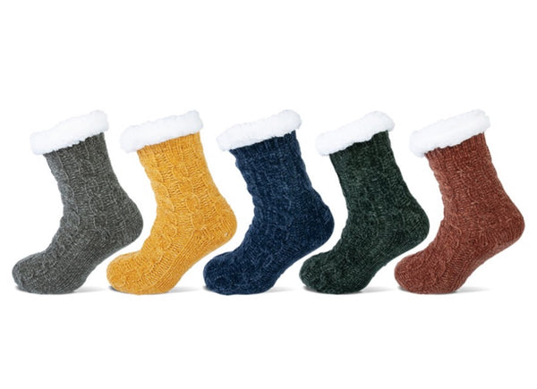 HomeSocks -  Antislip Huissokken - Kabel