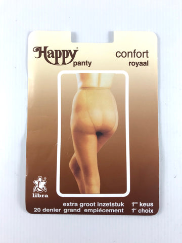 Happy - Mousse Panty 20 Denier - Korte Benen - Rugstuk