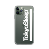 TokyoSleep® Original Bar Logo iPhone Case - White Logo