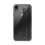 TokyoSleep® Original Bar Logo iPhone Case - Black Logo