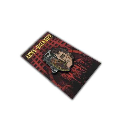 DOGS OF WAR ENAMEL PIN