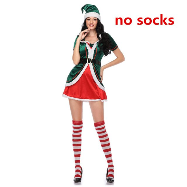 Santa Clause Elf Costume