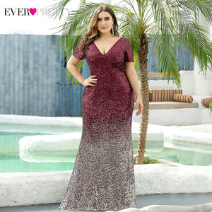 Sequined Abendkleider Mermaid Gown